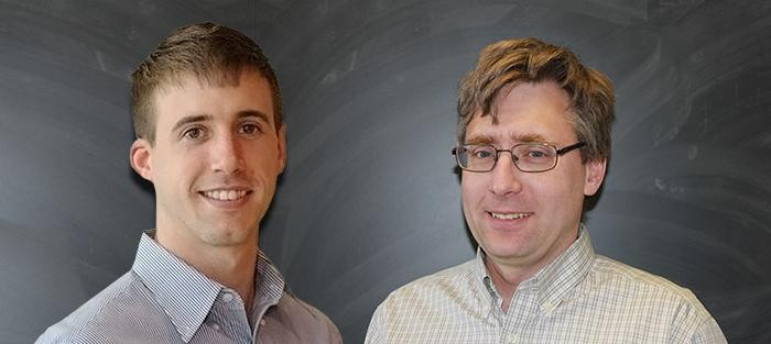 Dr. David Brown and Dr. Andrew Eckert